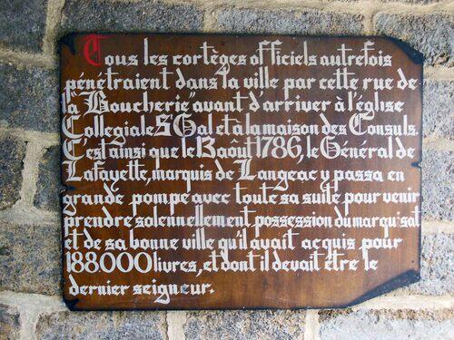 Un coin de Haute-Loire, LANGEAC...