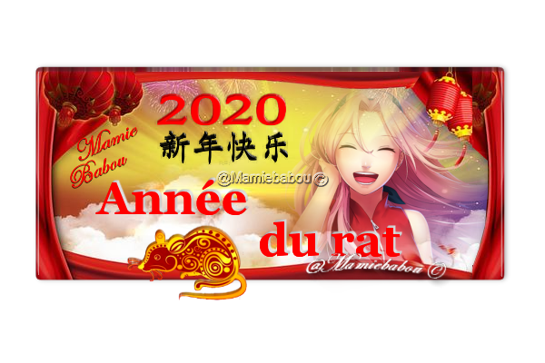 année 2020 rat
