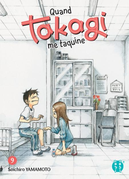 Quand Takagi me taquine - Tome 09 - Soichiro Yamamoto