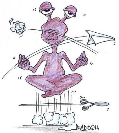 Zen en toute circonstance tu resteras !