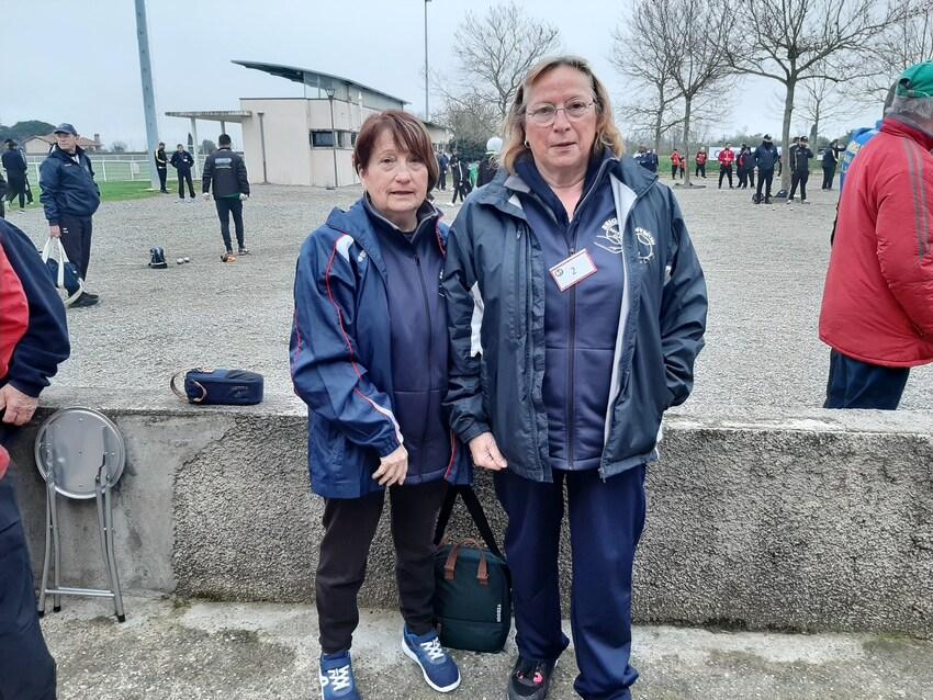 Qualificatifs Tête à Tête Hommes et Doublettes Femmes.