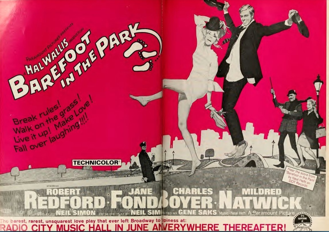 BAREFOOT IN THE PARK BOX OFFICE USA 1967