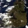 Île de Pâques vu par satellite