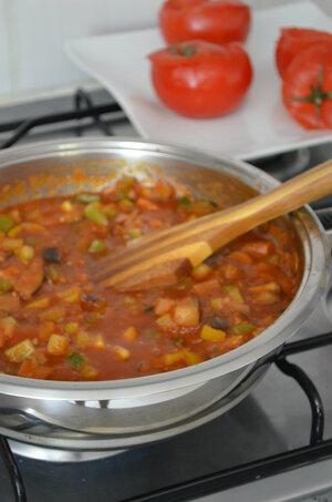 Tomates Farcie aux Légumes du Soleil