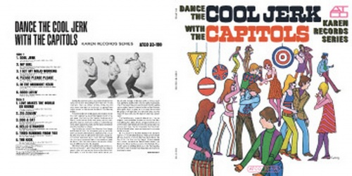 "The Capitols : Album "" Dance The Cool Jerk With The Capitols "" Atlantic Records SD 33-190 [ US ]"