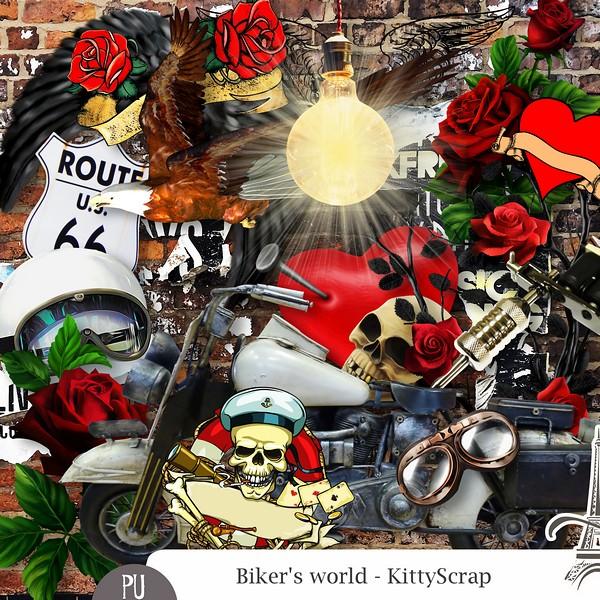 ESSENTIEL - Biker's world de kittyscrap