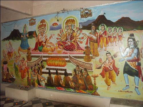 Inde 2014- Jour 7- La légende de Sarasvati et Gayatri