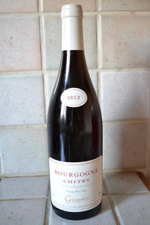Chitry Appelation Bourgogne Controlée