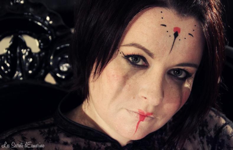 Halloween MakeUp : Dead Moon