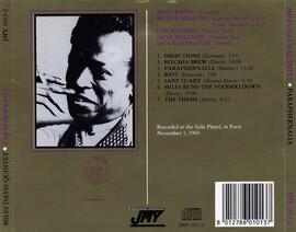 Le choix des lecteurs # 113: Miles Davis Quintet - Salle Pleyel - Paris - 3 Novembre 1969