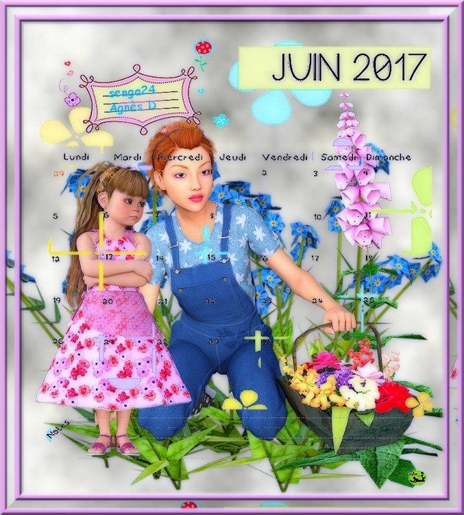 CREA(S) DE JUIN 2017 (calendrier 1)