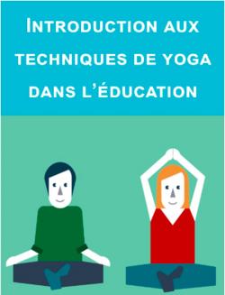 Formation Yoga dans l'éducation