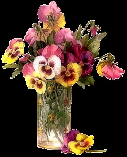 Fleurs dans vase / 2
