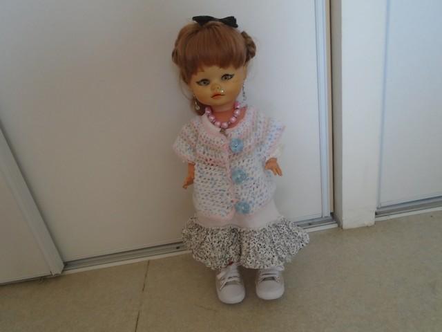 Petit gilet pour Rosalie