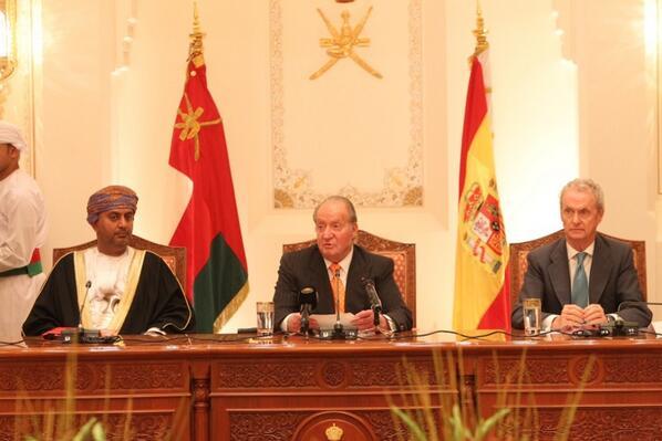le roi à Oman (suite)