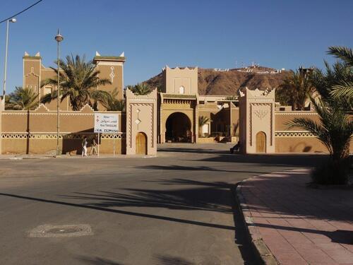 Kasbah Timsouline, un grand hôtel qui jouxte le camping