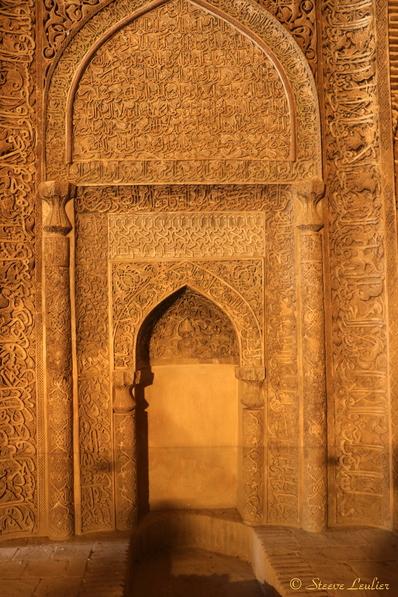 La mosquée du Vendredi, Ispahan