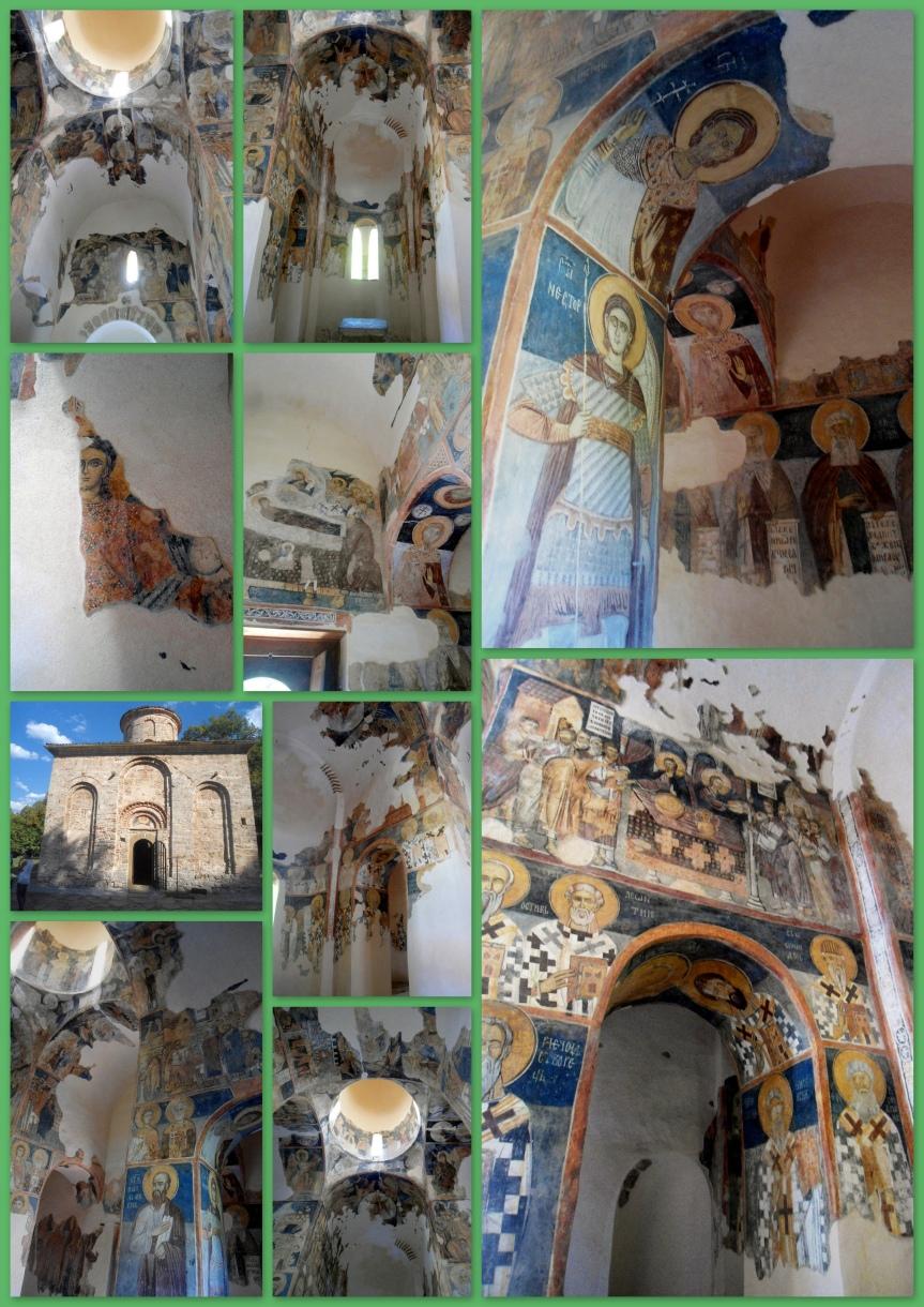 fresques du monastère de Zemen