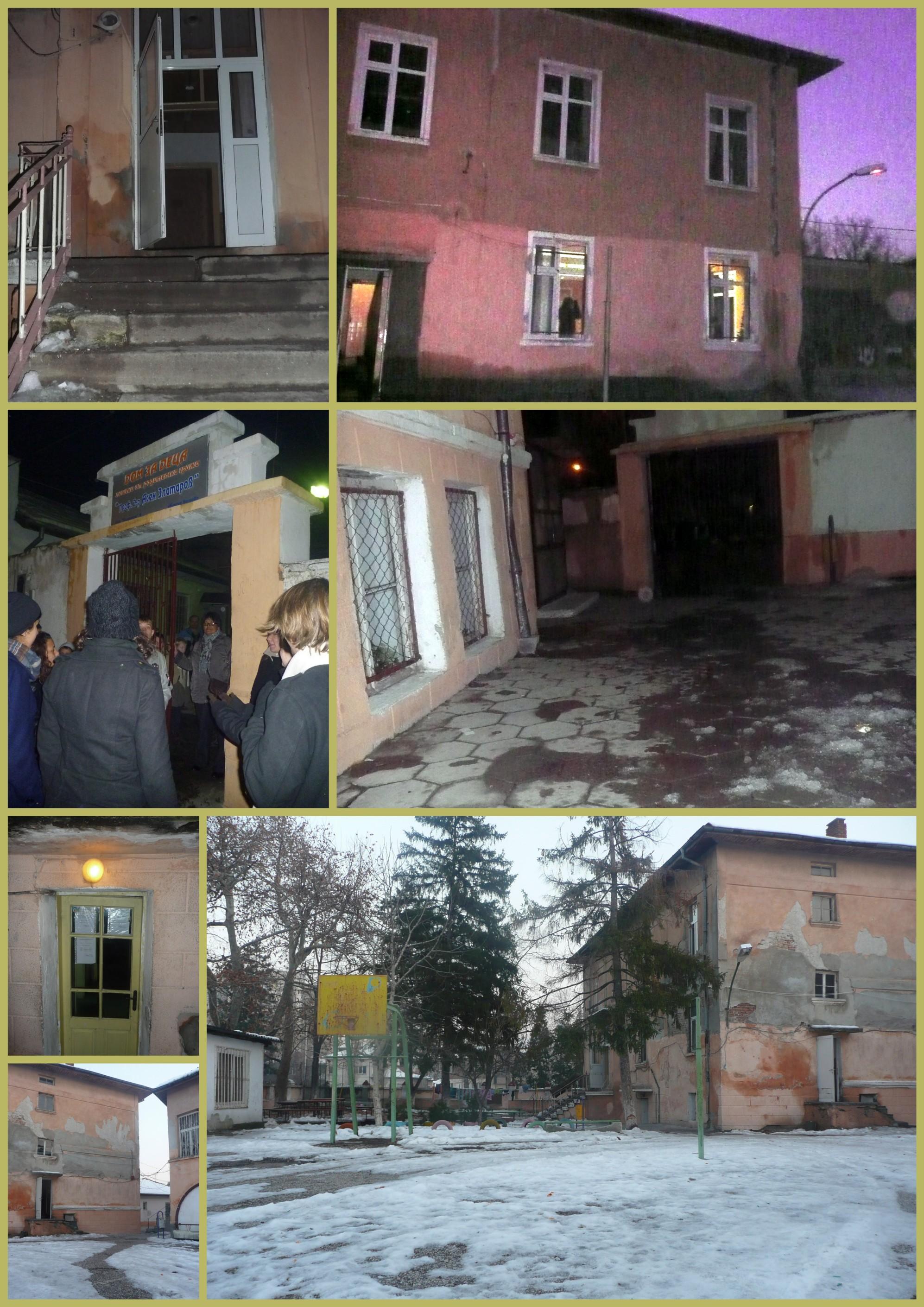 Etudiants français bénévoles en Bulgarie