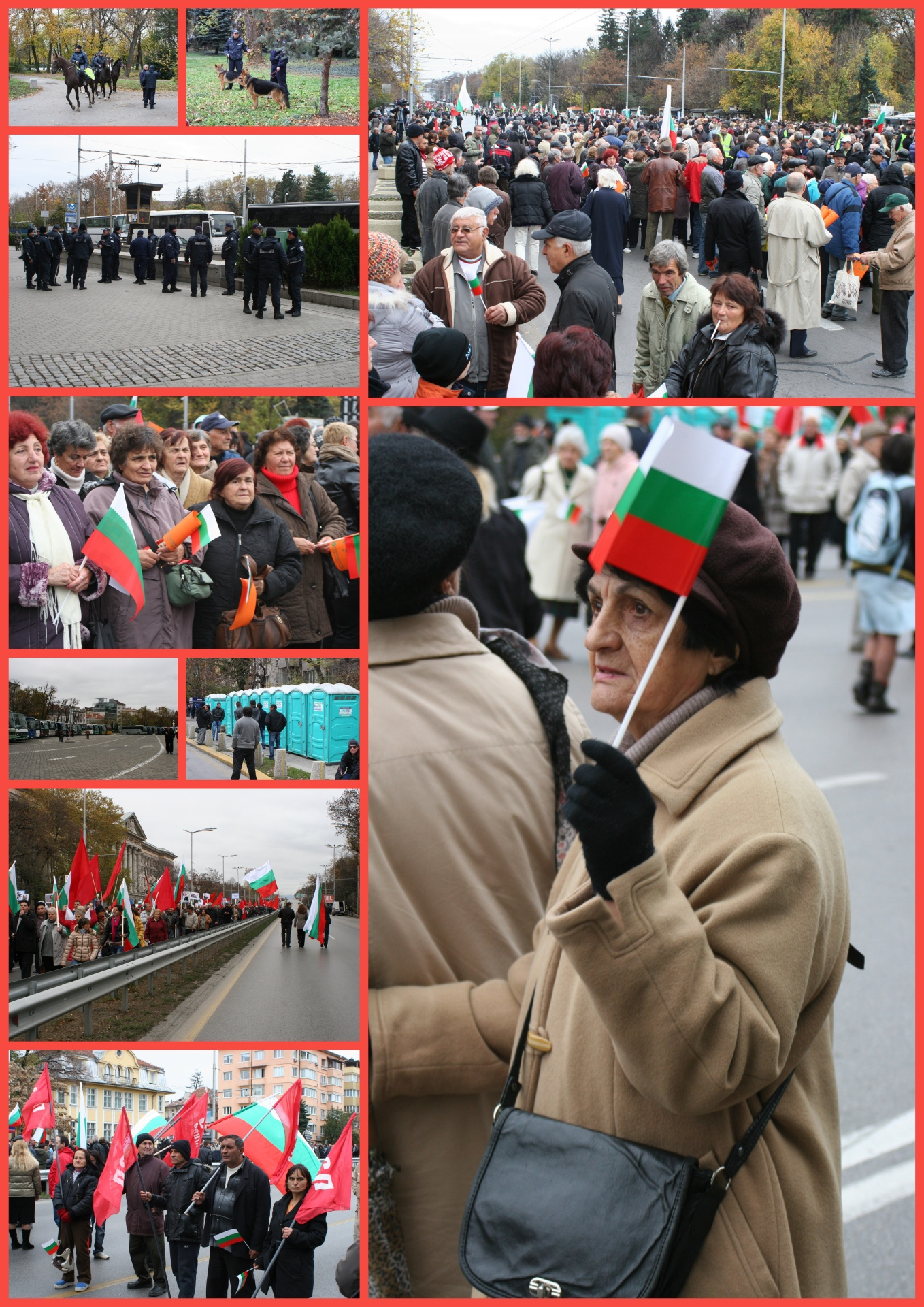 manifestation du 16 nov 2013