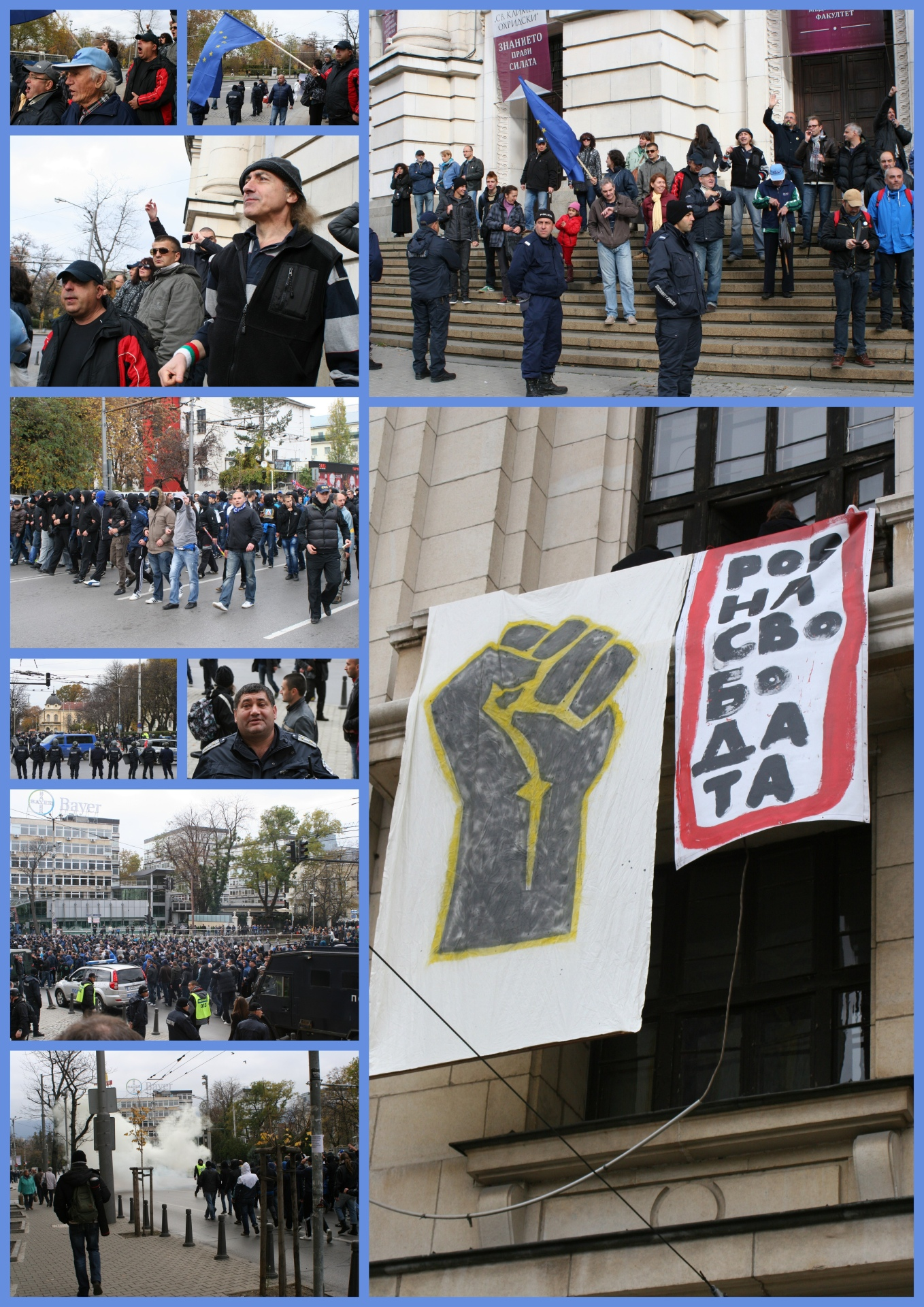manifestation 16 nov 2013