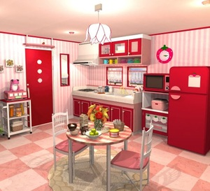 Jouer à Fruit kitchens 1 - Strawberry red
