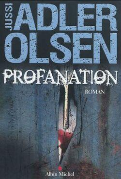 Profanation Jussi Adler Olsen