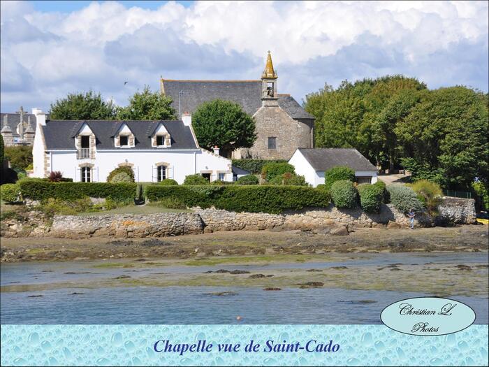 Vues de l'île Saint-Cado...