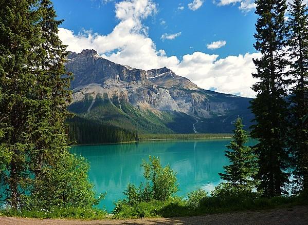 Jour 18 Emerald Lake départ