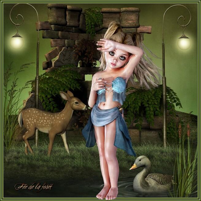 ♥Cadeaux de fée de la Forêt♥