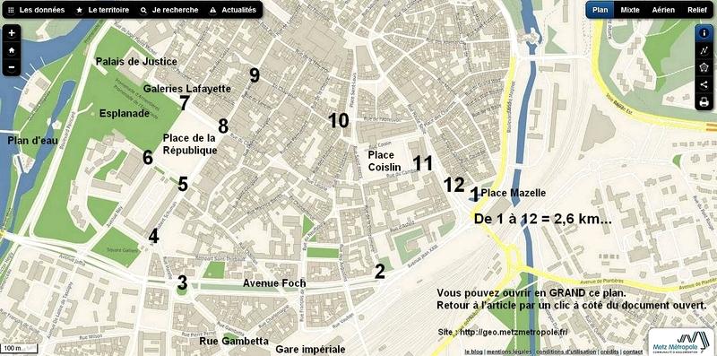 Metz / Le vert est dans la ville...