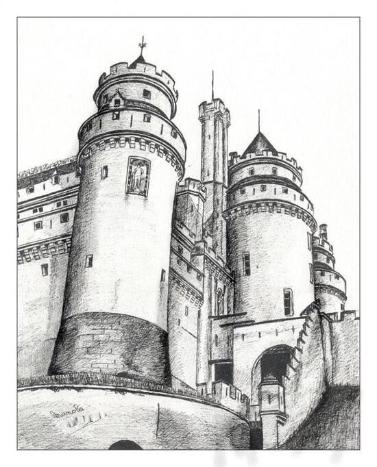 le château de Pierrepond