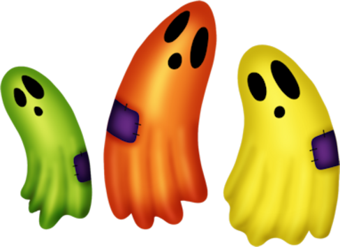 Tubes fantomes en png