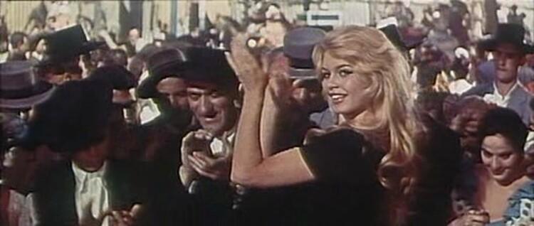 BRIGITTE BARDOT - LA FEMME ET LE PANTIN - 1959