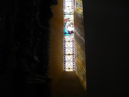 l'église a retrouvé des couleurs...