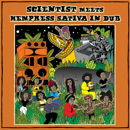 Scientist Meets Hempress Sativa in Dub (2018) [Reggae Dub]