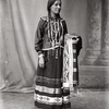 A Potawatomi woman. St Louis, Missouri. 1904. Photo by Charles H. Carpenter.