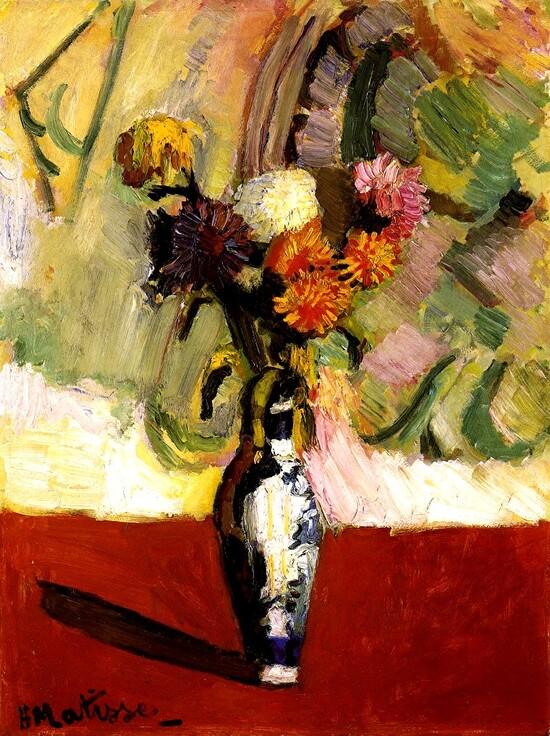 Matisse /8/        1903-l'atelier sous les toits