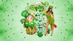 St-Patrick Fonds d'écrans