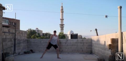 Danseur syrien