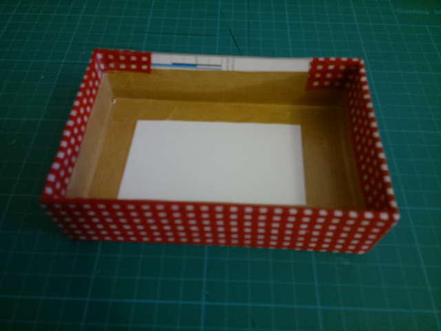 Boîte en tissus