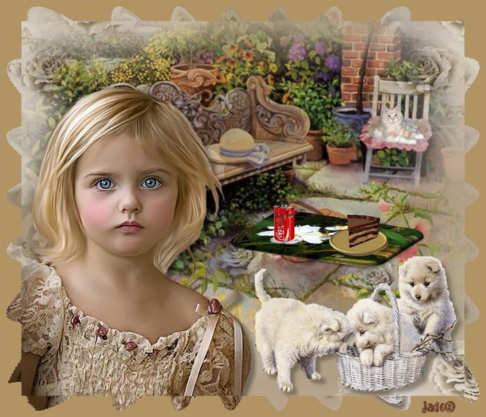 Défi enfant chez angel de kali