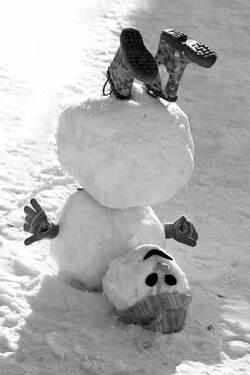 Toujours la neige....