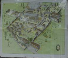 Plan du site de Delphes