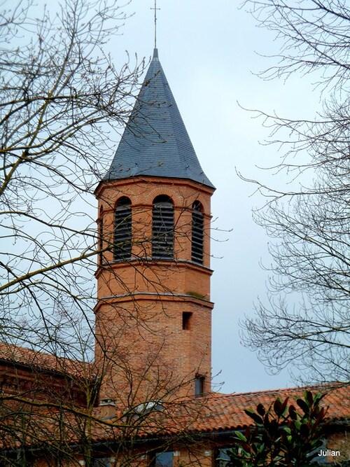 Toulouse : clocher et église