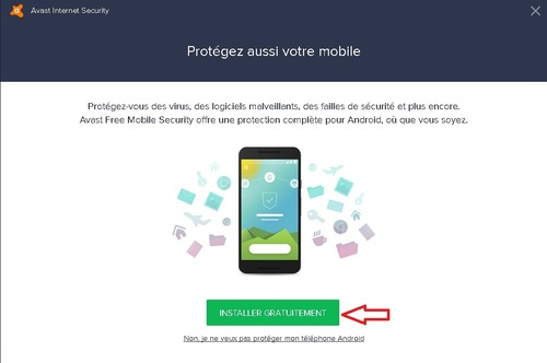 Avast Internet Security - Licence 365 jours gratuits
