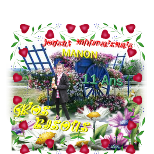♥Anniversaire Manon♥