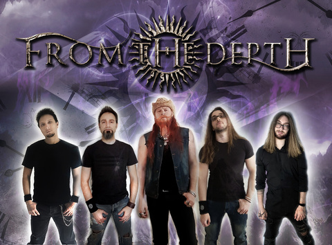 """FROM THE DEPTH - """"Spread Your Fire"""" Lyric Video"""