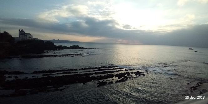 Lumière sur Biarritz