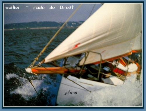 voilier rade de Brest